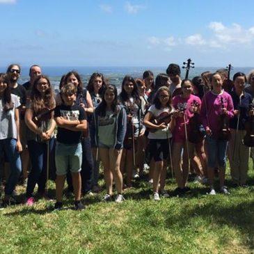 A orquestra A Gramola preséntase no Ribadeo Indiano 2016