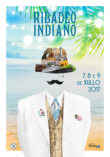 Cartel Ribadeo Indiano 2017