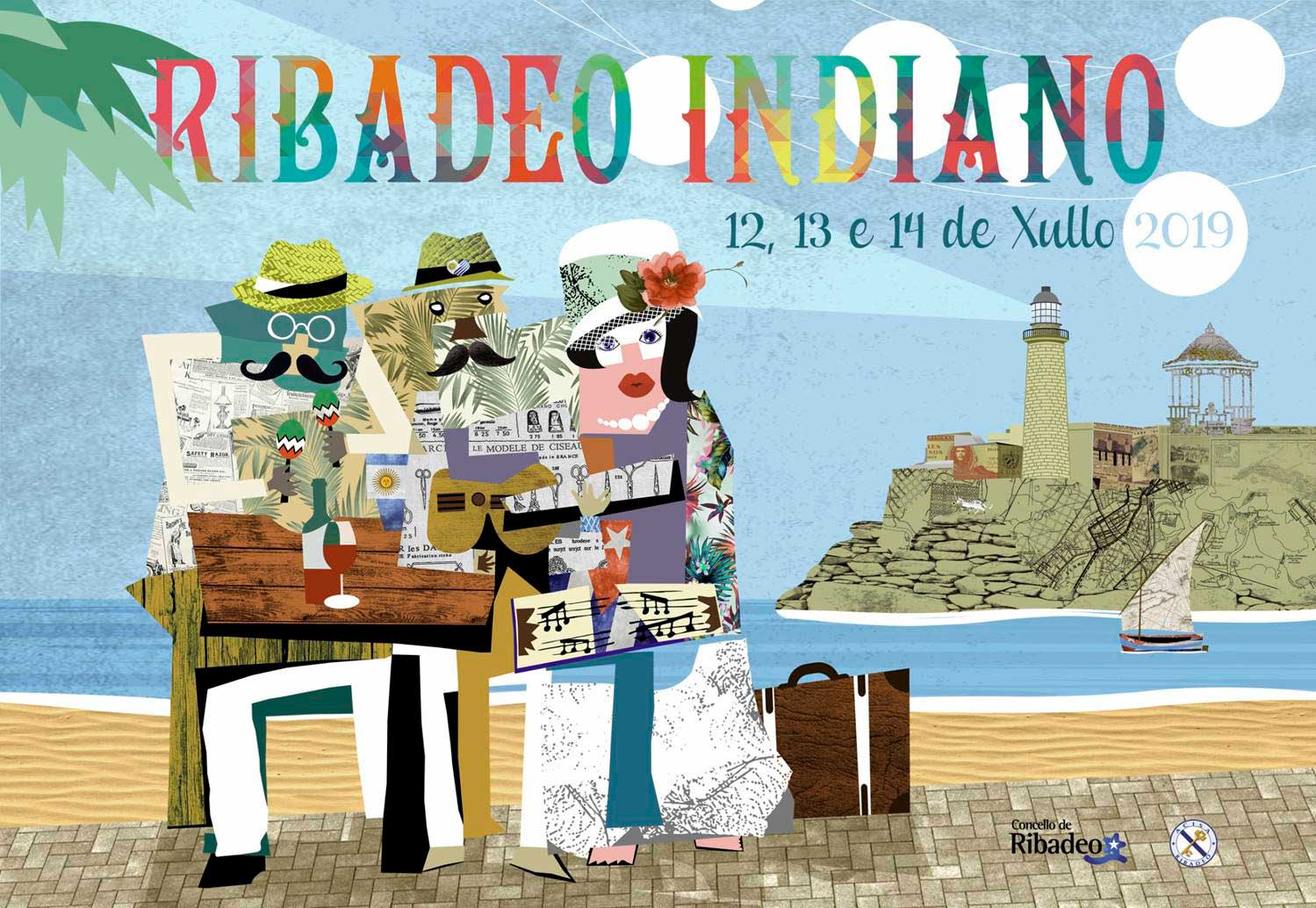 Cartaz VI Ribadeo Indiano 2019