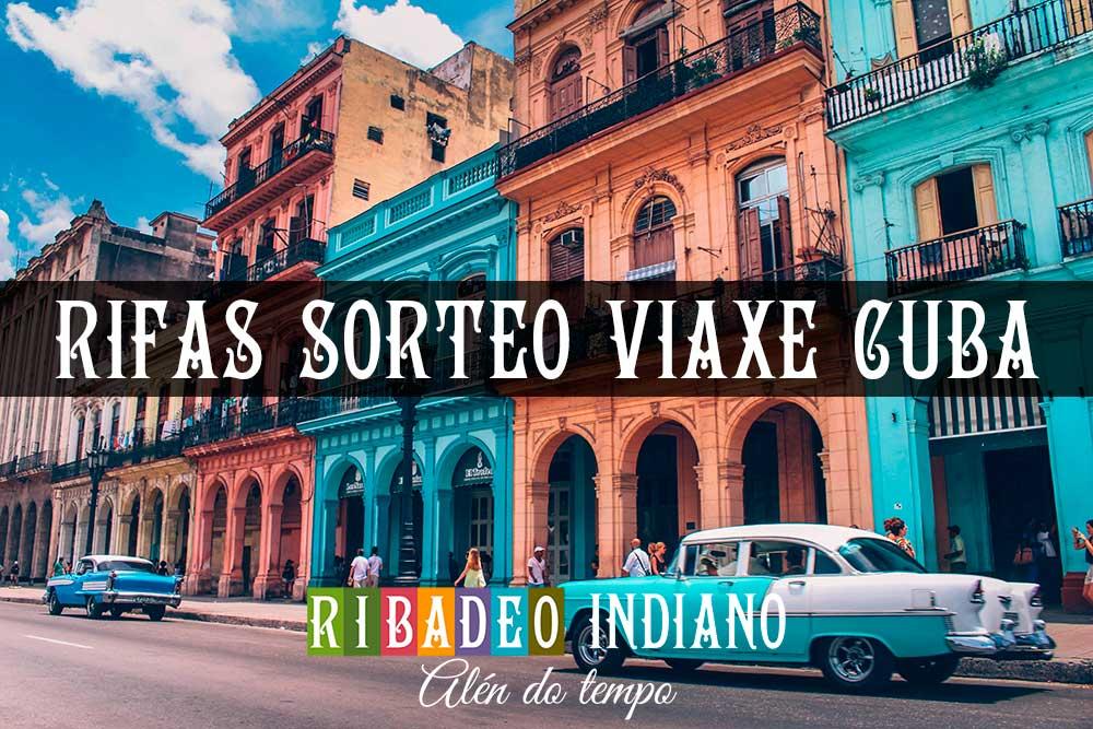 Adquire a túa rifa para o sorteo dunha viaxe a Cuba